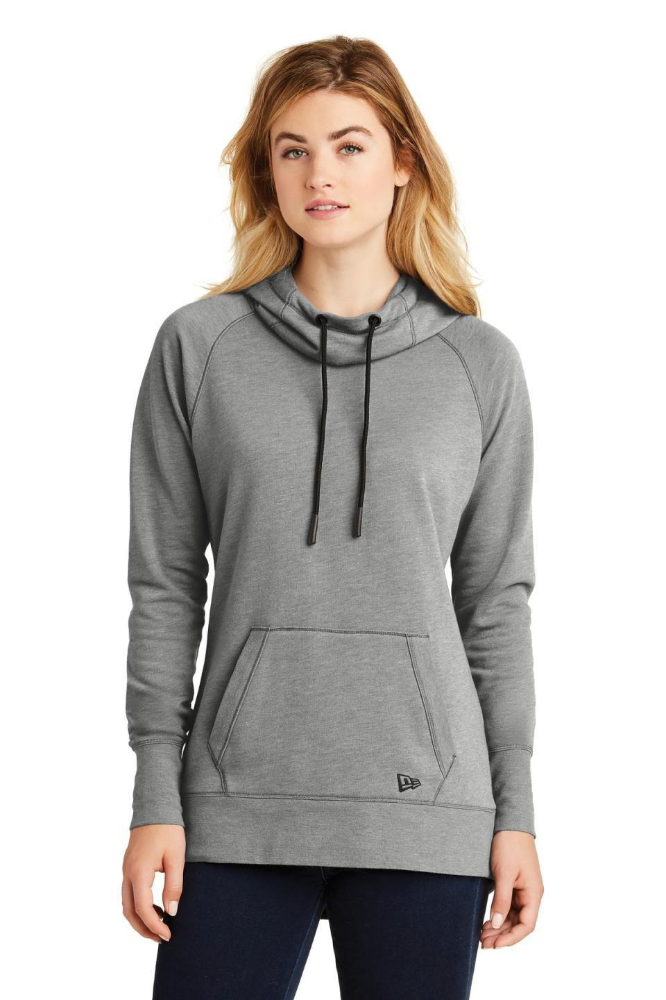 New Era Women's Tri-Blend Fleece Pullover Hoodie