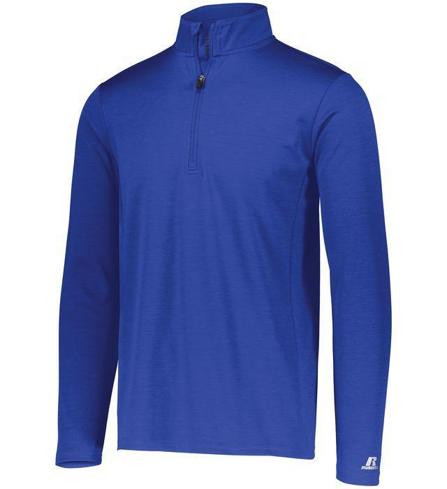 Russell Athletic Men's Dri-Power Lightweight 1/4 Zip Pullover
