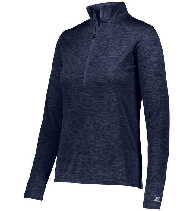 Russell Athletic Women's Dri-Power 1/4 Zip Pullover.
