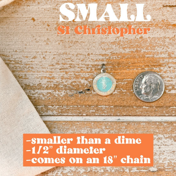St. Christopher Small Necklace