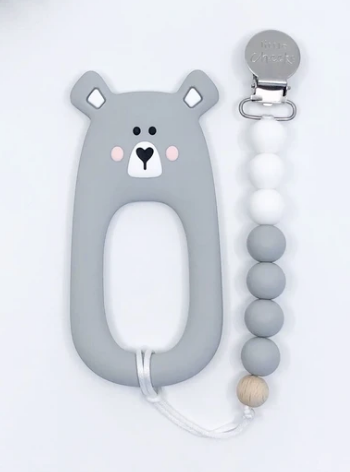 Bear Clips/Grey