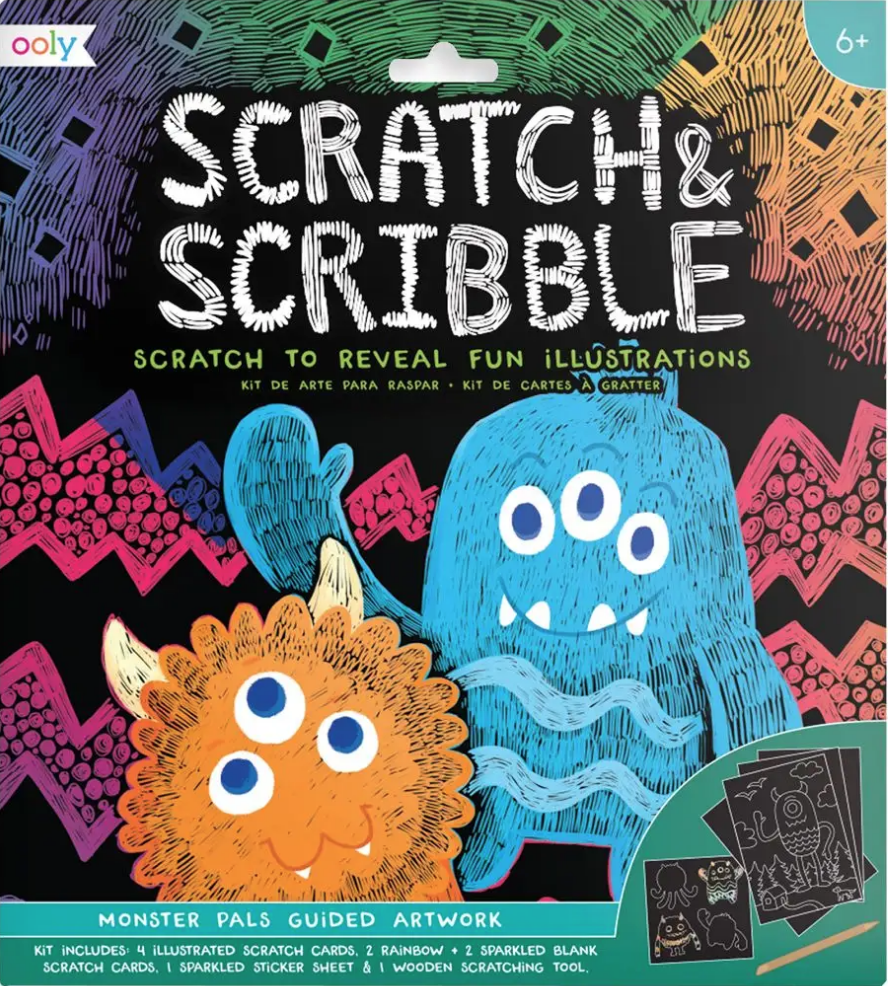 Scratch & Scribble/Monster