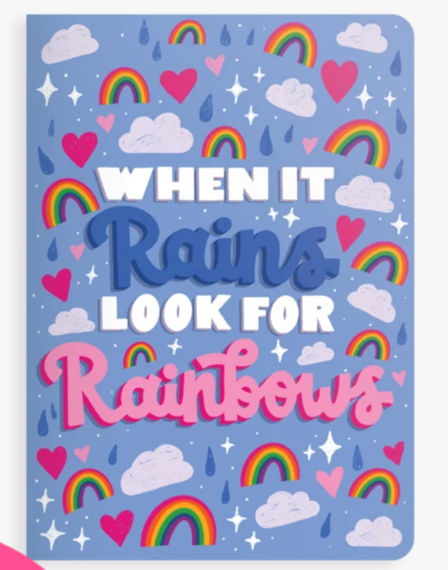 Jot-It! Notebook/Rainbows
