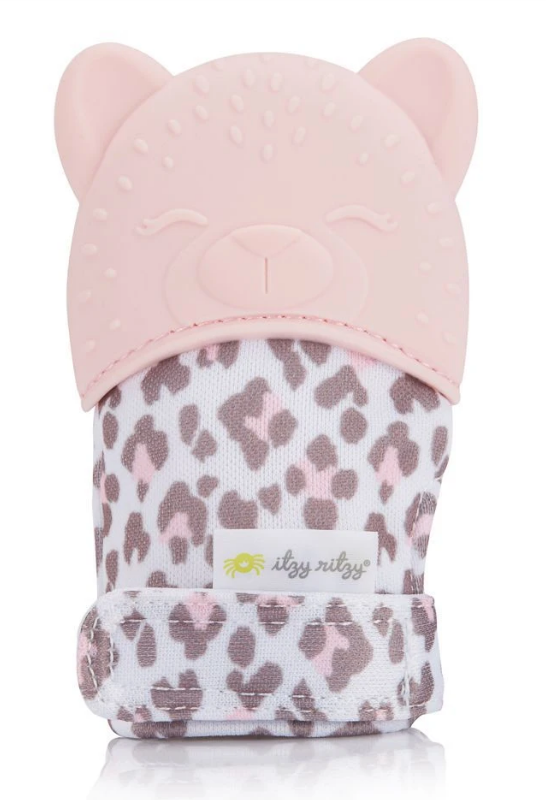 Teething Mitt - Leopard