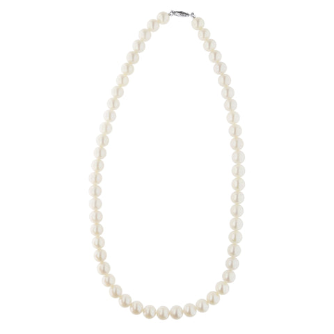 Beauniq 14k Yellow Gold 9-9.5mm Freshwater Cultured Pearl Strand Necklace