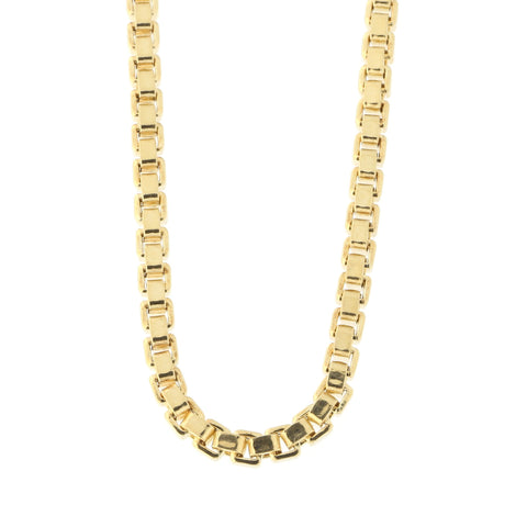 Men's 14k Yellow Gold Lightweight 2.5mm Box Chain Necklace, 20""