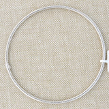14k Yellow Gold 3mm Textured Bangle Bracelet, 8""
