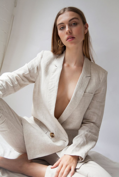 Hansen and Gretel Audrey Jacket in Sand | The Annex