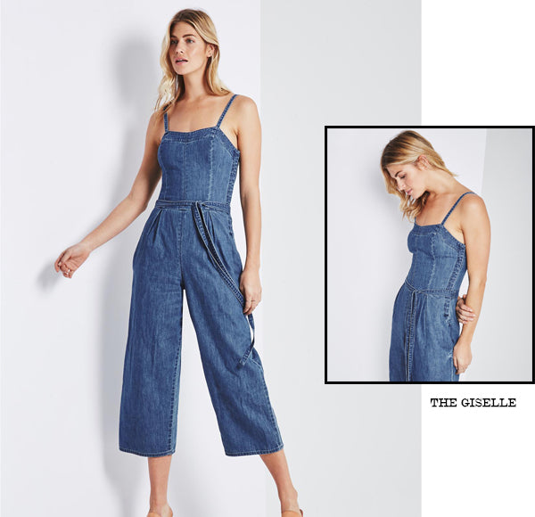 THE GISELLE DENIM JUMPSUIT | AG DENIM AT THE ANNEX MT HAWTHORN