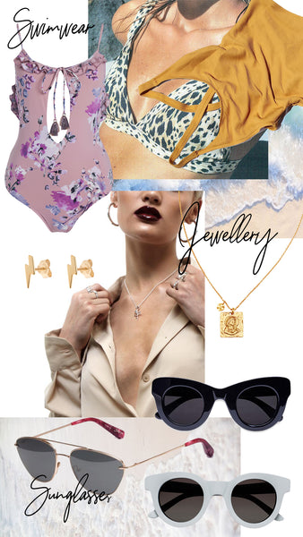 Australia Day Outfits 2018 | Sunglasses Swimwear and Jewellery | The Annex Mt Hawthorn