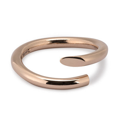 Twist Ring 9ct rose gold