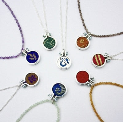 Hoop necklaces