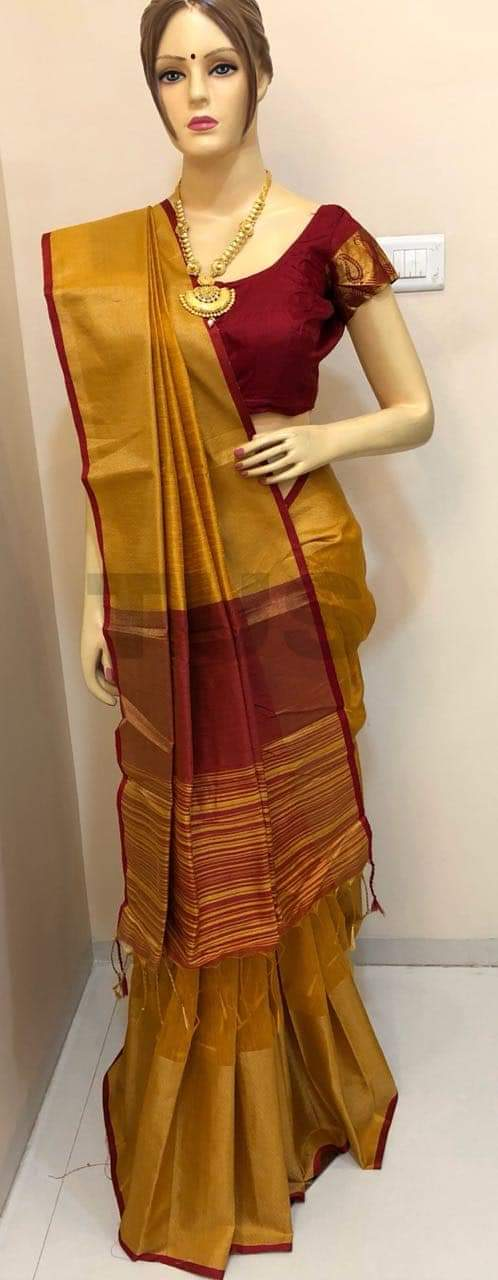 multi color soft silk saree WS-2123