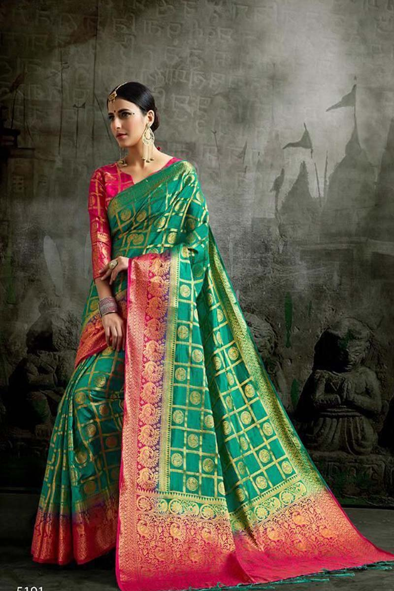 Multi color soft silk saree WS-2188