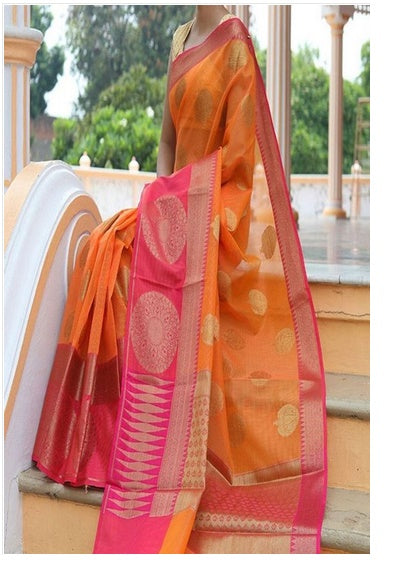 Multi color soft silk saree WS-2210