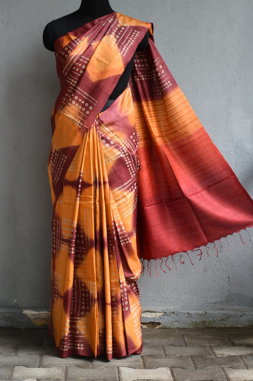 Multi color soft silk saree WS-2219