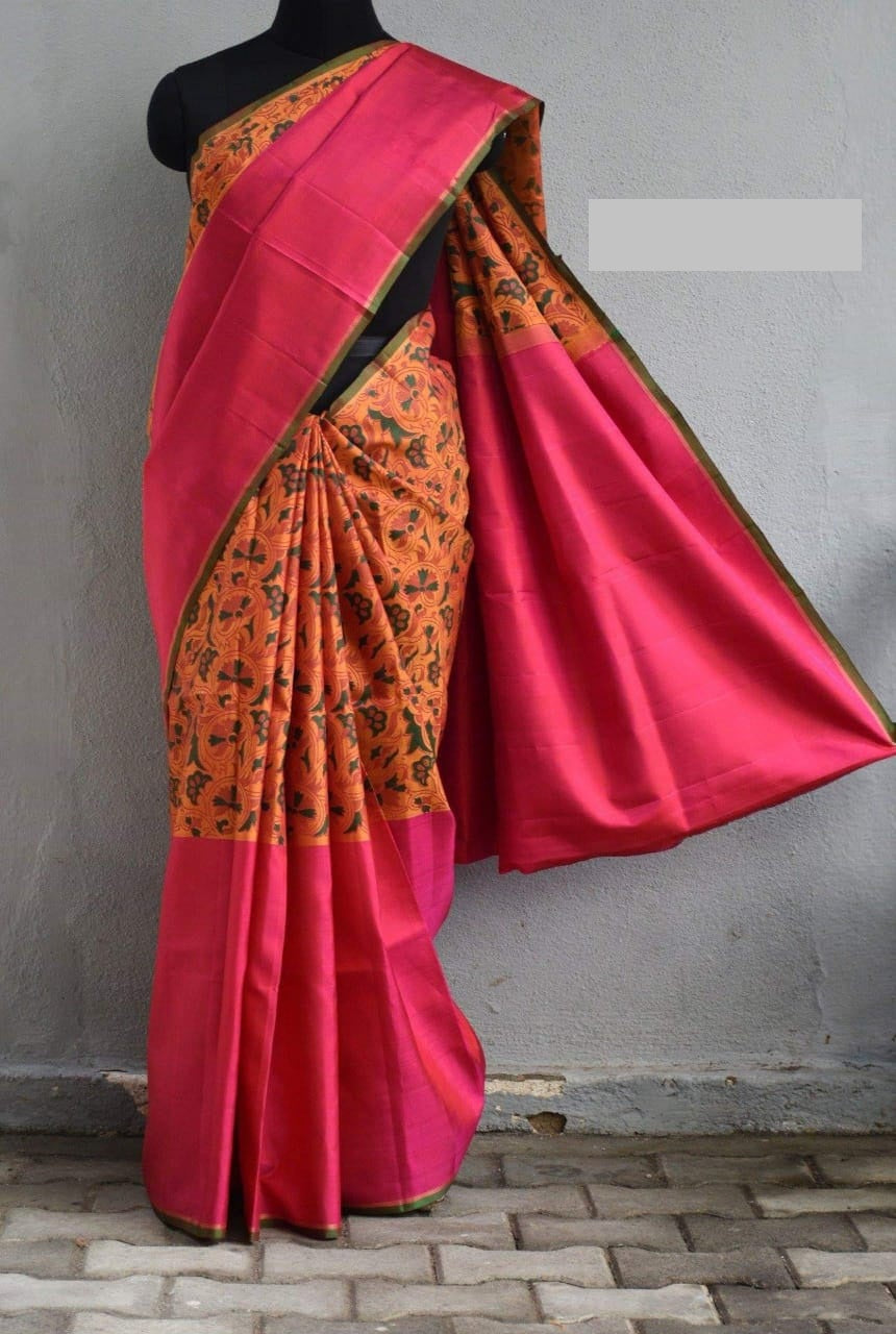 Multi color soft silk saree WS-2220