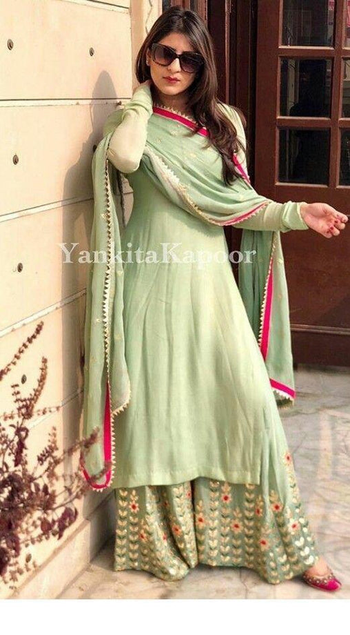 Light Green Color Designer Salwar Suit ws-3041
