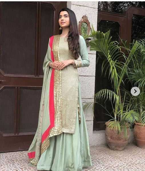 Light Green Color Designer Salwar Suit ws-3044