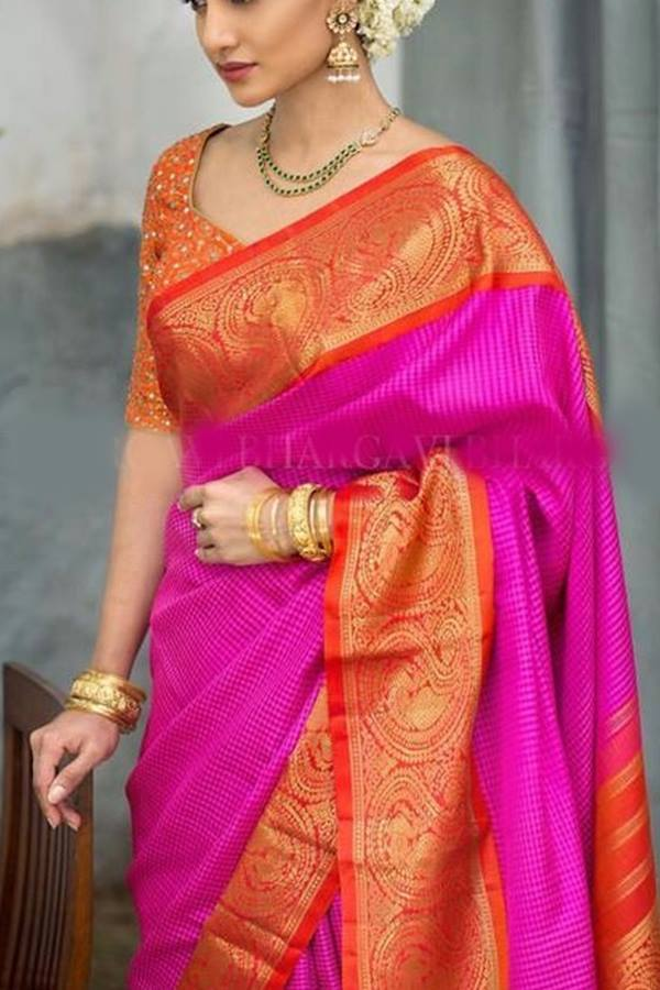 Women Store Multie Color Soft Silk Saree Ws-020