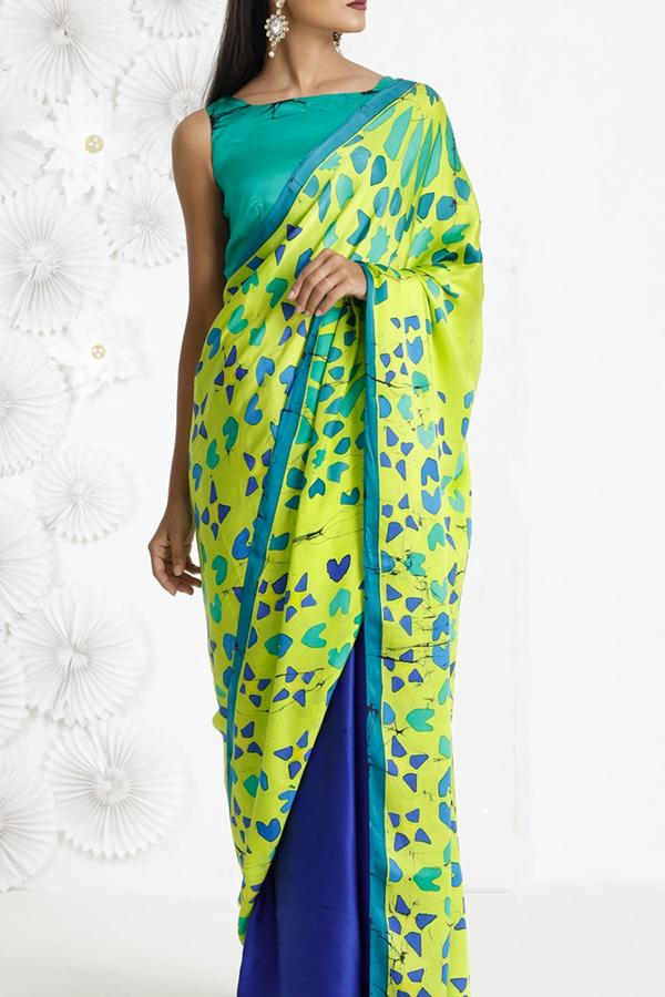 Women Store Multi Color Soft Silk Saree Ws-059