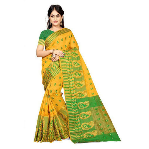 Yellow Colour Designer Kanjivaram Saree Ws-1009