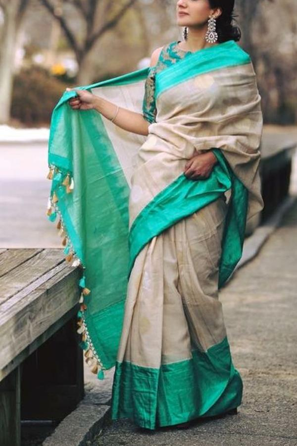 Women Store Multie Color Soft Silk Saree Ws-079