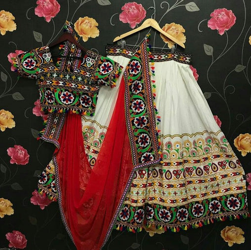 WOMEN STORE MULTI COLOR NAVRATRI SPECIAL LEHENGA CHOLI WS-2014