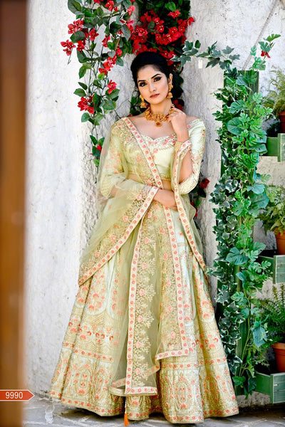 WOMEN STORE MULTI COLOUR DESIGNER LEHENGA CHOLI WS-529