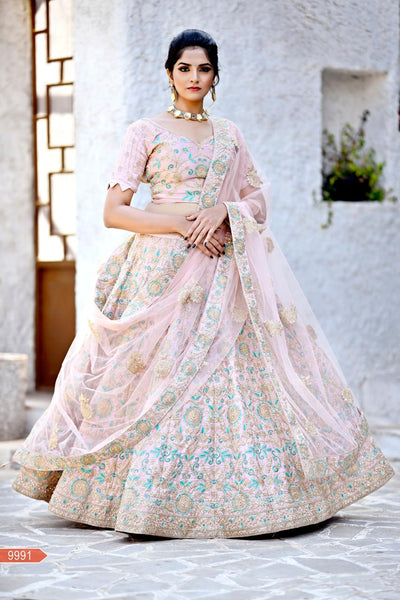 WOMEN STORE MULTI COLOUR DESIGNER LEHENGA CHOLI WS-530