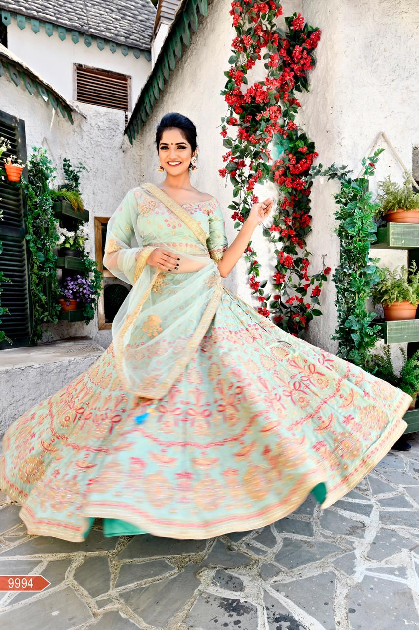 WOMEN STORE MULTI COLOUR DESIGNER LEHENGA CHOLI WS-532