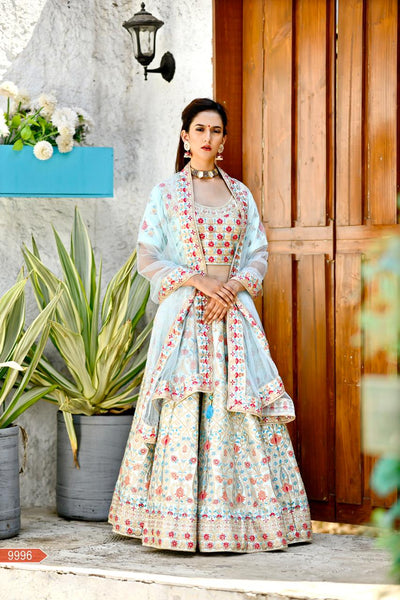WOMEN STORE MULTI COLOUR DESIGNER LEHENGA CHOLI WS-533