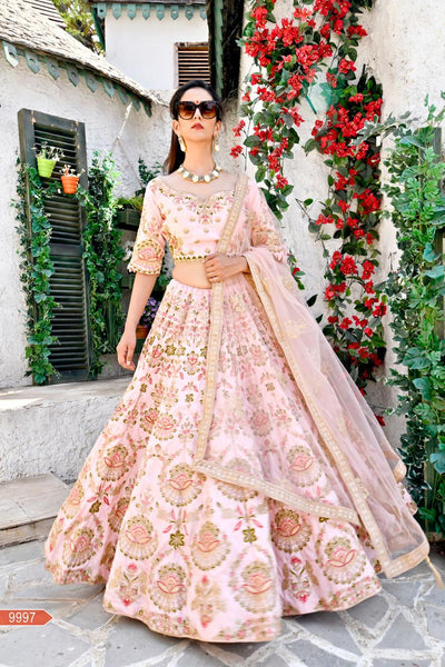 WOMEN STORE MULTI COLOUR DESIGNER LEHENGA CHOLI WS-534