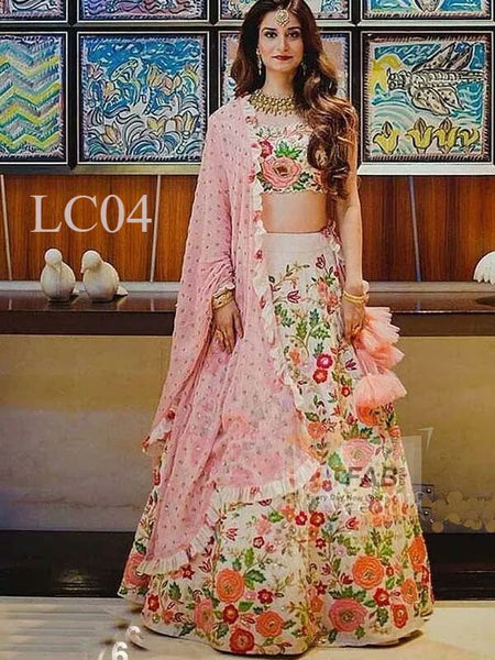 WOMEN STORE MULTI COLOUR DESIGNER LEHENGA CHOLI WS-522