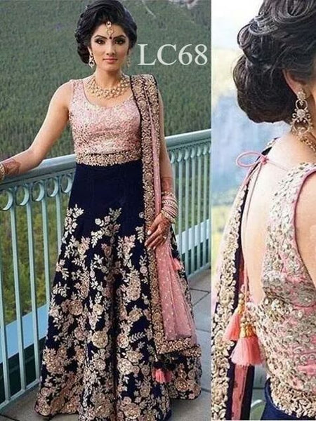 WOMEN STORE MULTI COLOUR DESIGNER LEHENGA CHOLI WS-524