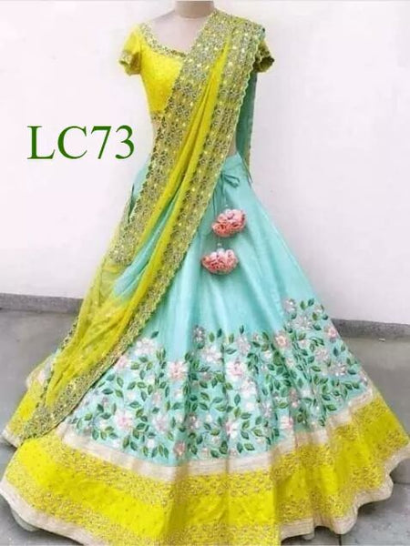 WOMEN STORE MULTI COLOUR DESIGNER LEHENGA CHOLI WS-503