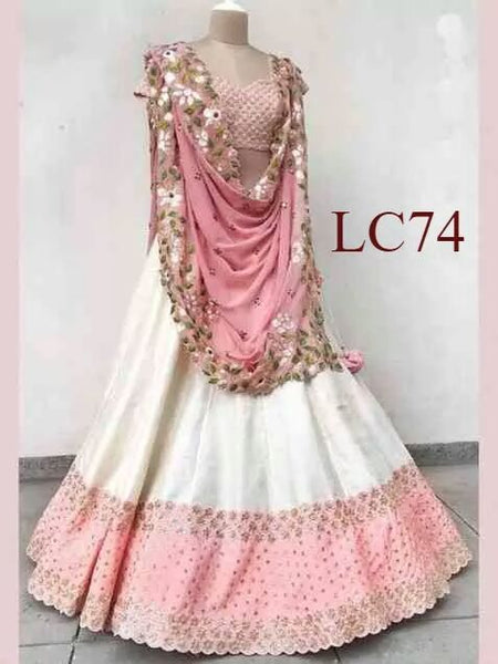 WOMEN STORE MULTI COLOUR DESIGNER LEHENGA CHOLI WS-504
