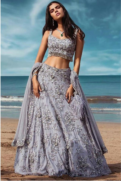 WOMEN STORE MULTI COLOUR DESIGNER LEHENGA CHOLI WS-510