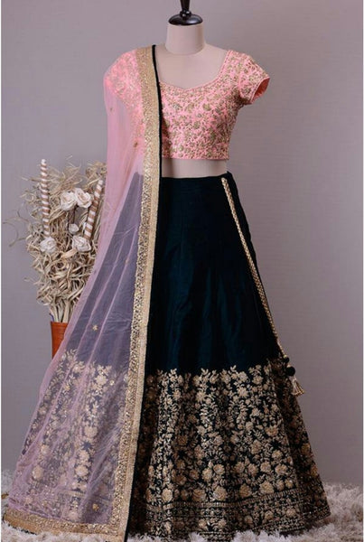 WOMEN STORE MULTI COLOUR DESIGNER LEHENGA CHOLI WS-515