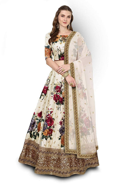 WOMEN STORE MULTI COLOUR DESIGNER LEHENGA CHOLI WS-518