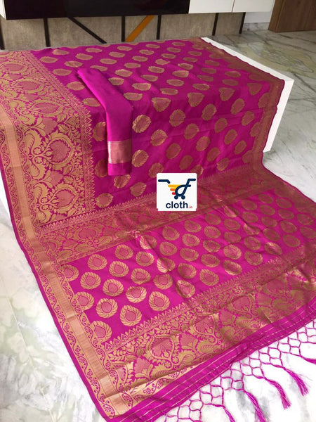 Marvane Rich Pallu Banarasi Silk Saree ws-4011