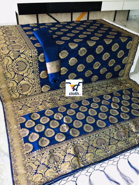 Jimbies Rich Pallu Banarasi Silk Saree ws-4012