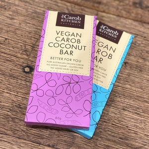 Vegan Carob Coconut Bar | 12 x Bars