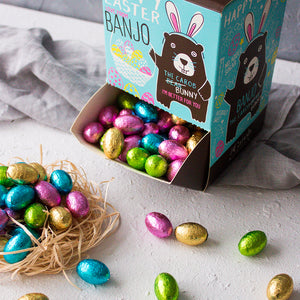 Banjo The Carob Bunny | 2 x Mini Easter Egg Dispensers