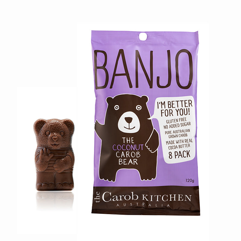 Banjo The Coconut Carob Bear | 8 Pack