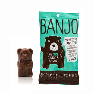 Banjo The Mint Carob Bear | 8 Pack