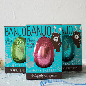 Banjo The Carob Bunny | Easter Egg Blue
