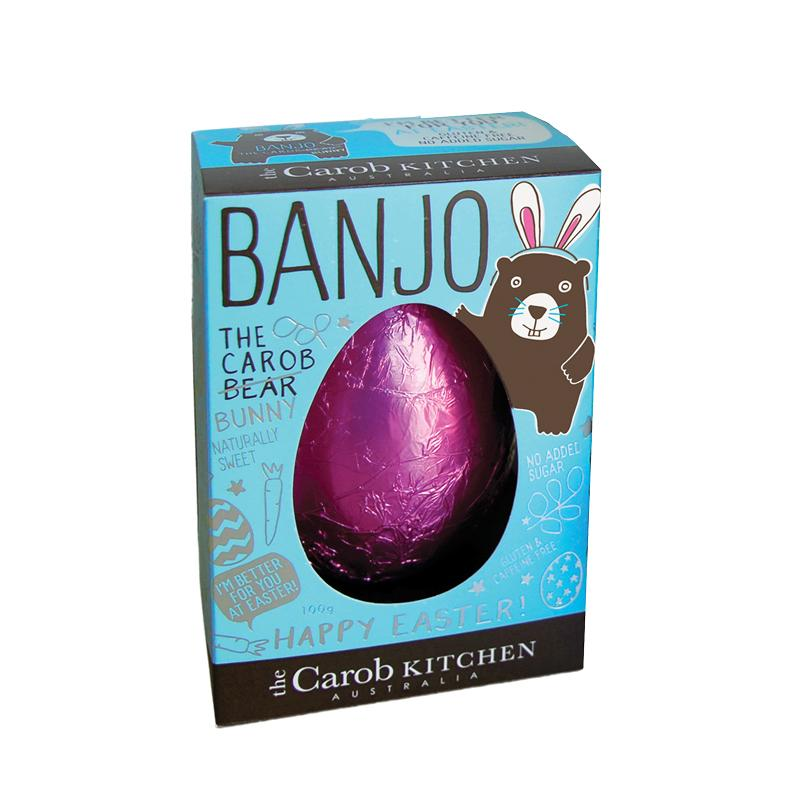 Banjo The Carob Bunny | Easter Egg Pink