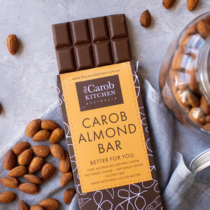 Carob Almond Bar | 12 x Bars
