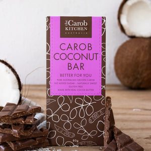 Carob Coconut Bar | 12 x Bars
